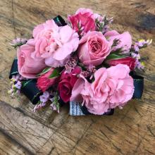 Pink Mix Corsage
