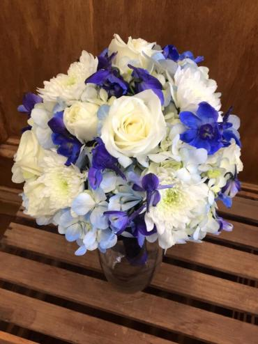 Blue Blooms Bouquet