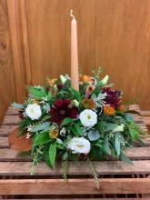 Fall Bohemian Round Centerpiece