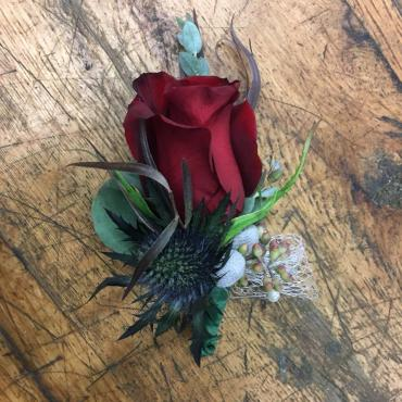 Paris Boutonniere