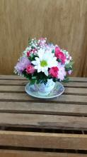 Arrangement in Tea Cup LZ-18
