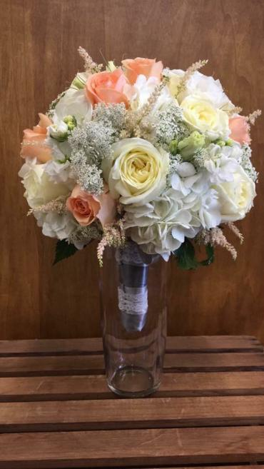 Touch Of Peach Bouquet