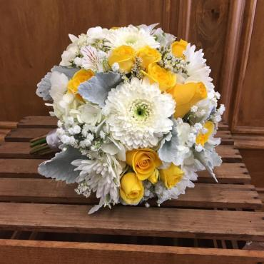 Touch Of Yellow Bouquet
