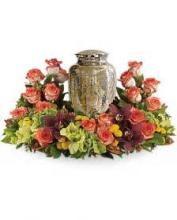 Sunset Urn Wreath