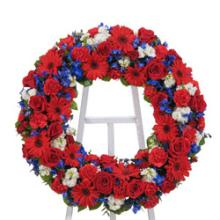 American Tribute Wreath
