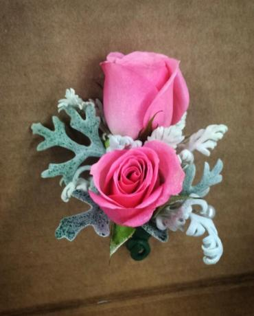 Double Spray Boutonniere