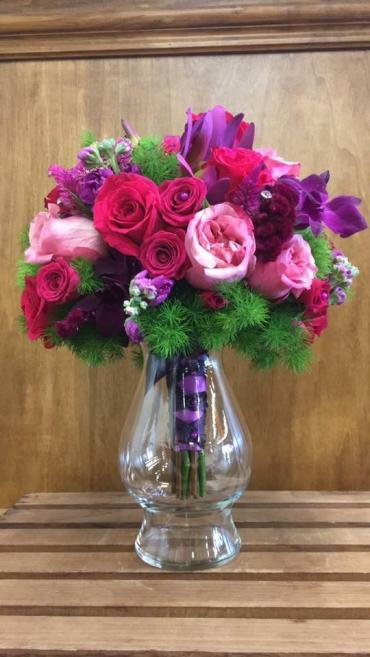 Majestic Magenta Bouquet