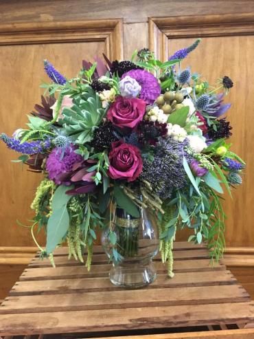 Purple Lush Boho Bouquet