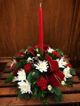Christmas round centerpiece