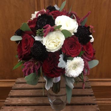 Midnight Burgundy Bouquet