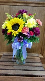 Fresh Arrangement Vased LZV-412
