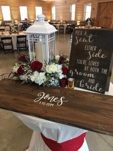 Guest Sign Table