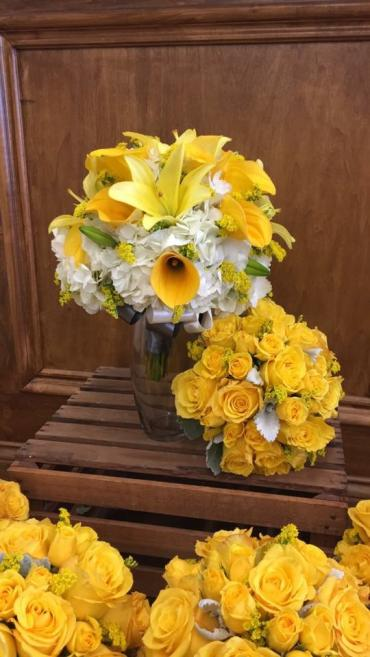 Yellow Bliss Bouquets