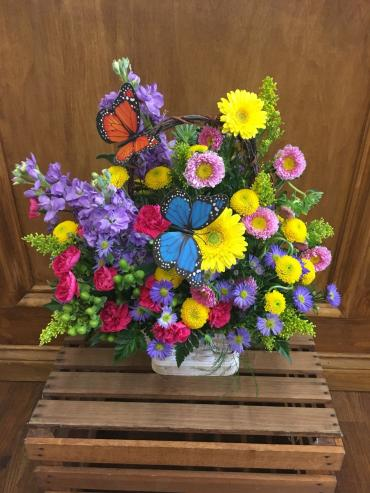 Butterfly Pop Basket