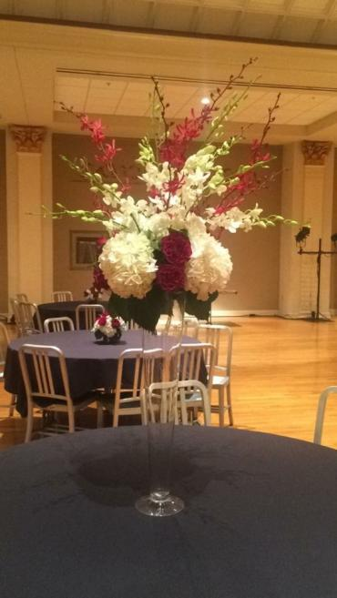 Tall Mixed Orchid Centerpiece