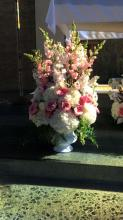 Pink Grace Altar Arrangement