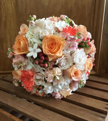 Coral & Peach Bouquet