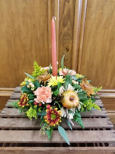 Lutz Round Centerpiece