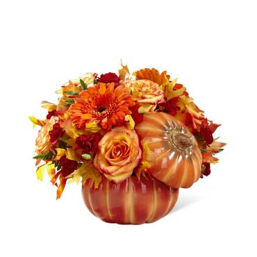 FTD Pumpkin Bountiful Bouquet