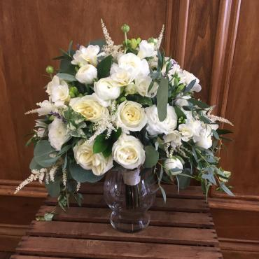 Whimsical & White Bouquet