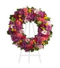 Color Of Life Wreath