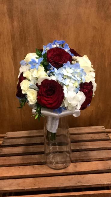Red White & Blue Mini Bouquet
