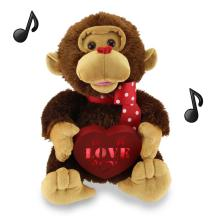 Musical Valentine Monkey