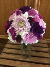 Shades Of Purple Mini Bouquet
