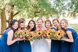 Fall & Navy Wedding
