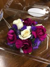 Purple Crush Corsage