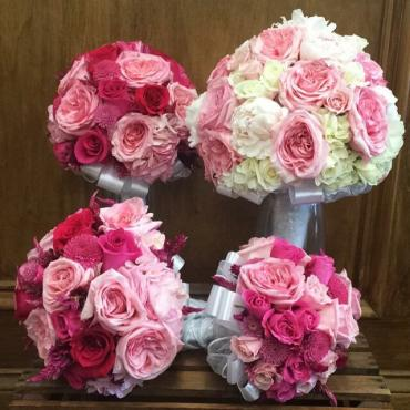 Berry Pink Bouquets