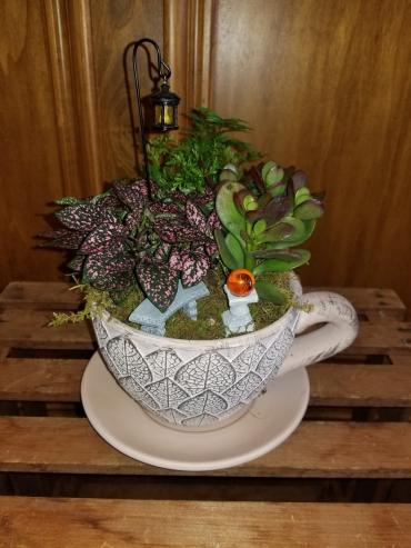 Giant Teacup Planter