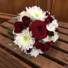 Red & White Mini Bouquet