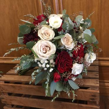 Burgundy & Blush Bouquet