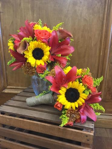 Fall Splendor Bouquets