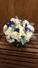 Touch Of Blue Centerpiece